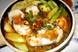 Catfish Sweet & Sour Fire Pot #91